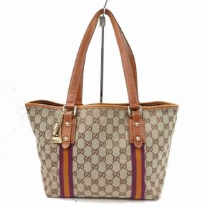 Auth Gucci Small Shoulder Bag Brown #981G12